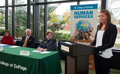 College of DuPage and National Louis University Sign Human Services 3+1 BA Degree Agreement | by COD Newsroom