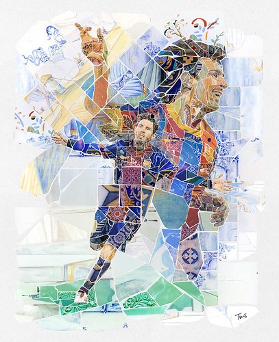 Lionel Messi: És un bell dia (It's a beautiful day) | by tsevis