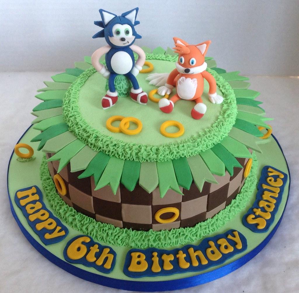 Sonic Tails Birthday Cake Liz Flickr