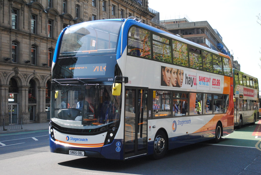 ... Stagecoach Manchester 10478 SN65OBL | by Alan Sansbury