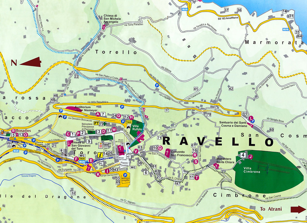 Ravello Italy Map Related Keywords Suggestions Ravello Italy Map