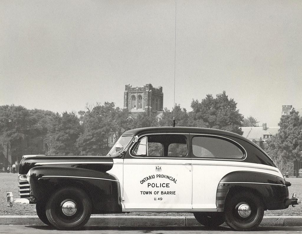 Old Police Cars >> OPP General Patrol Vehicles   Flickr
