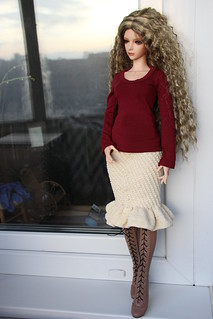 Crocheted skirt | by taecelle