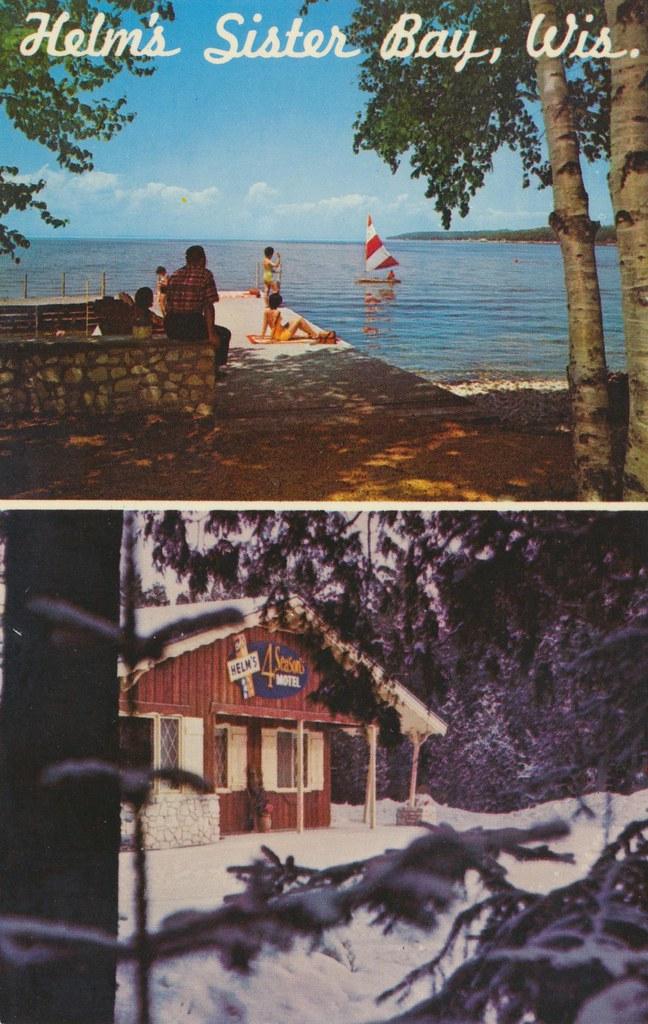 Helm's 4 Seasons Motel - Sister Bay, Wisconsin