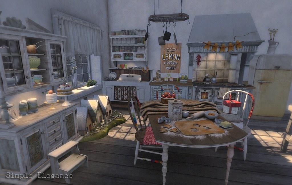 Granny\'s Kitchen 1 | Credits: 01_8f8 - Granny\'s Winter Cotta… | Flickr