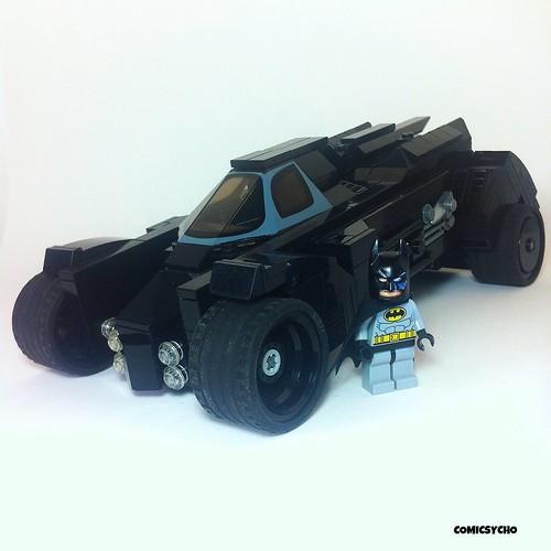 Lego Batman Arkham Knight: LEGO Batman Arkham Knight Batmobile.