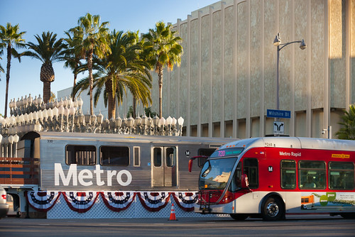 LACMTA Metro Purple Line Westside Extension groundbreaking ceremony, November 7, 2014 | by Metro Transportation Library and Archive