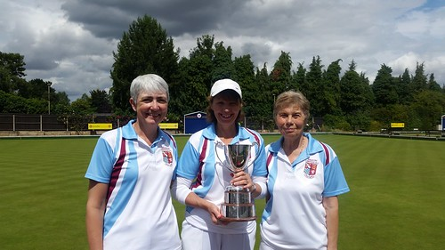 County ladies triples winners 2016