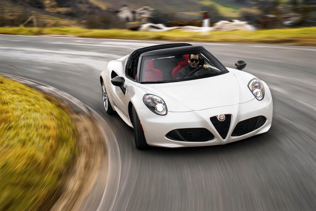 2015 Alfa Romeo 4c Spider Naias 2015 Press Photos Flickr