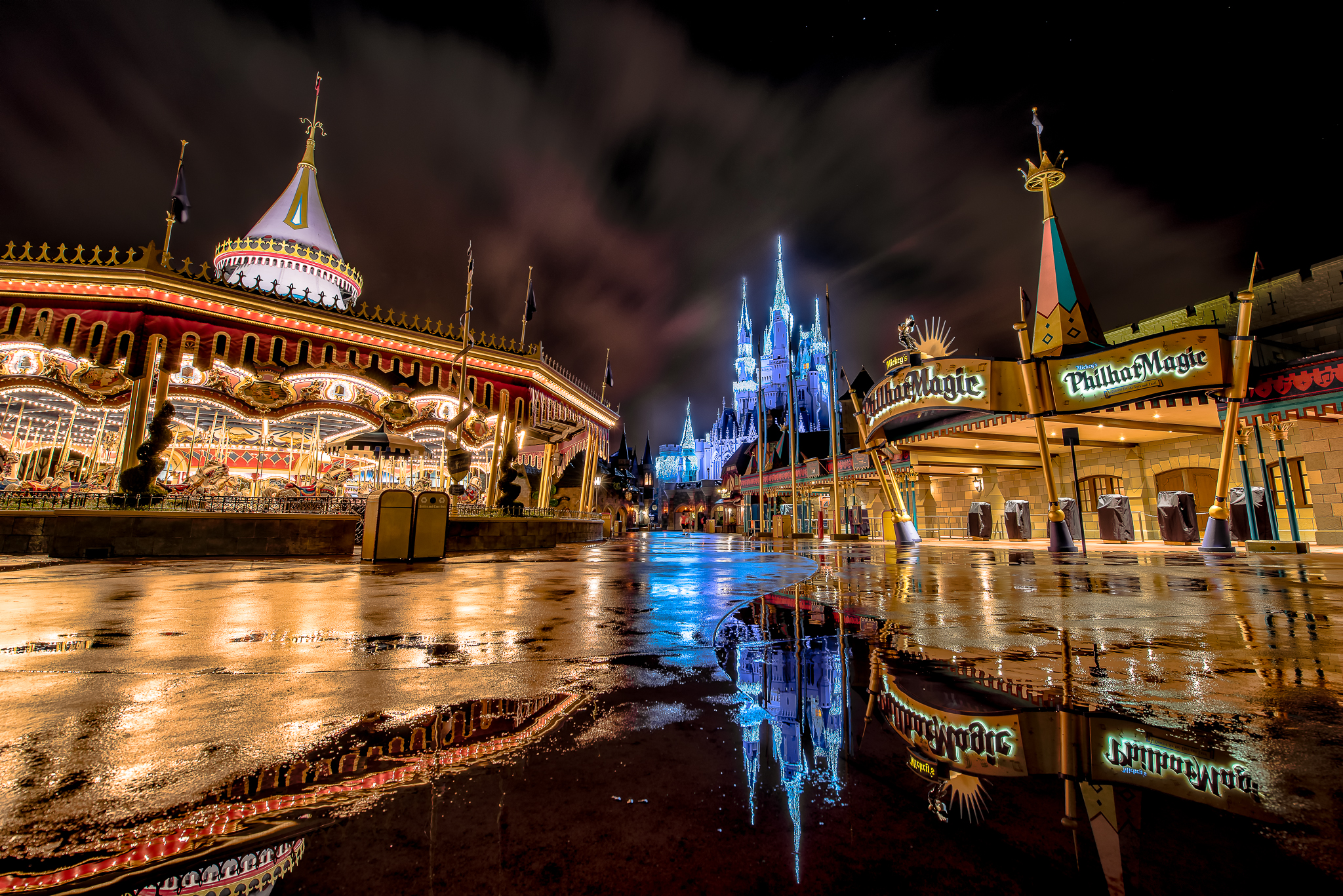 Reflections of Fantasyland