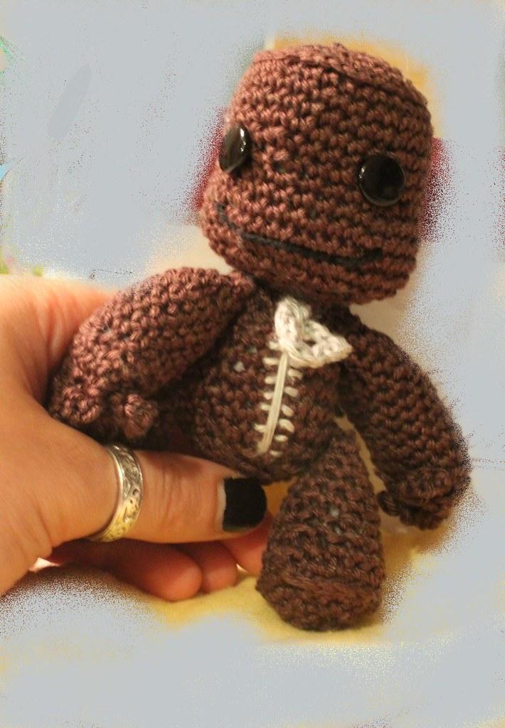 Sackboy Little Big Planet Crochet Sackboy Little Big Plane Flickr