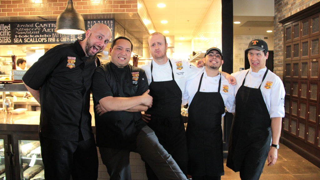 2016 chefs luncheon at taps fish house and brewery in for Taps fish house irvine