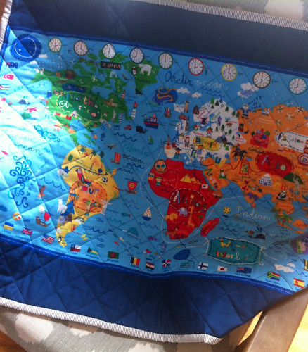 what a world map quilt back2 | by suzy @ floating world