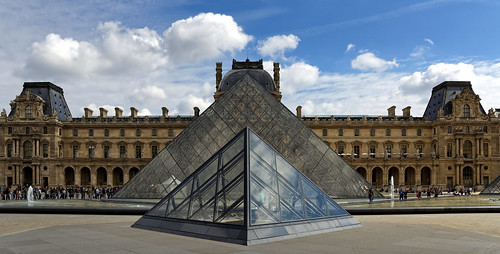 Louvre, cour carrée | by Guillaume DELEBARRE