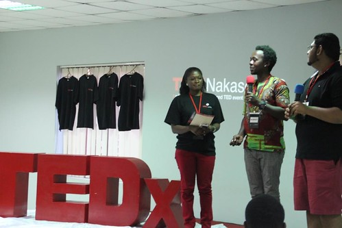 In the middle: Bruno Ruganzu of TEDxKampala | by tedxnakaseroED