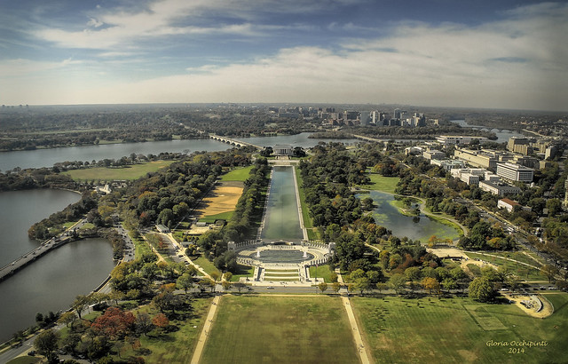 West Side View from the Washington Monument