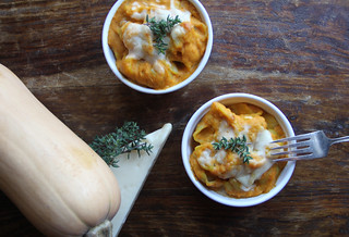 butternut squash mac and cheese with thyme | by Farm Fresh To You -