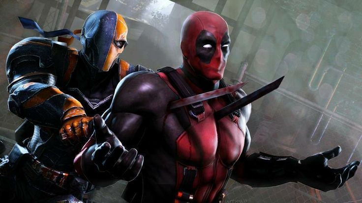 LEGO DEATHSTROKE VS DEADPOOL CONTEST