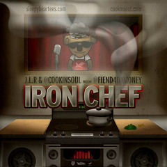"Album Artwork - Fiend ""Iron Chef"""