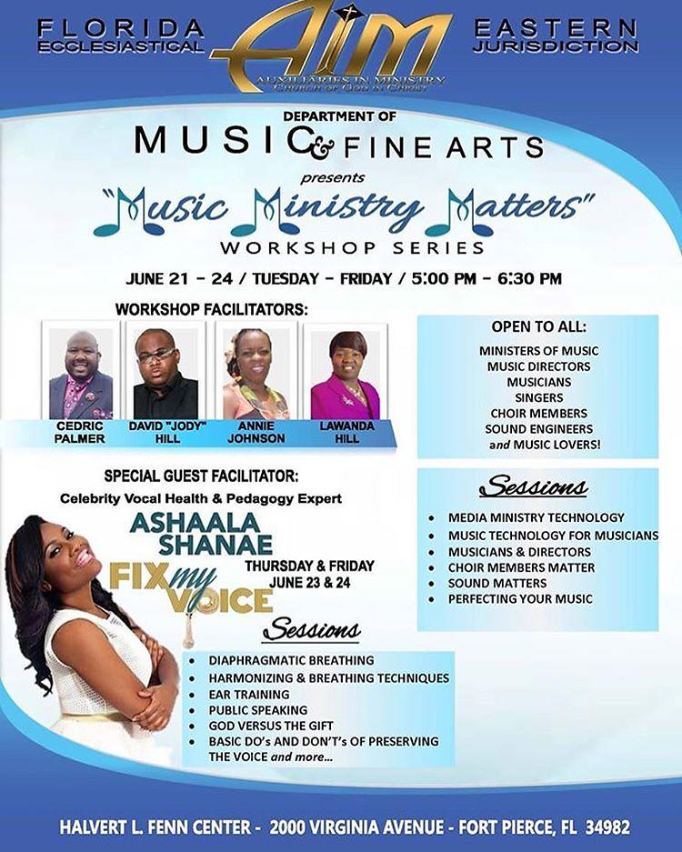 Our jurisdictional music & fine arts department presents t