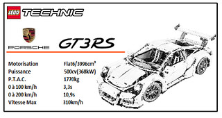PAINT AFFICHE PORSCHE GT3 N&B. | by canonne.michael