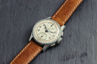 Vintage '40s Helbros chronograph watch #3 | by GuySie