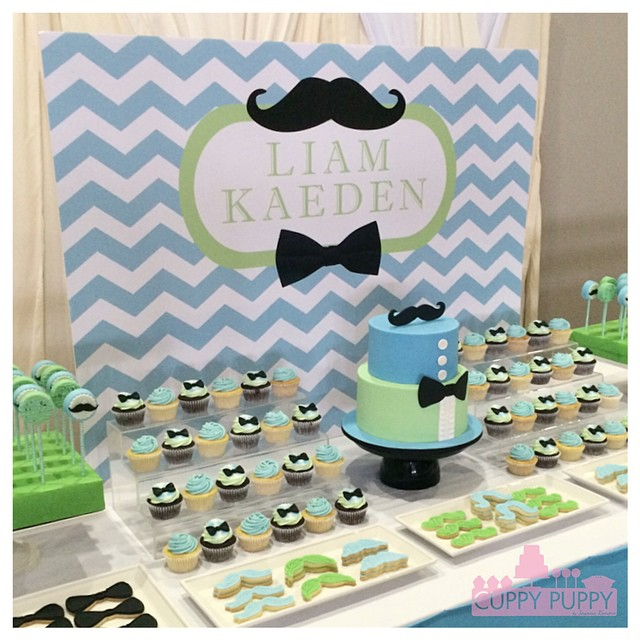 Little Man Theme Sweets Mustache Amp Bow Tie Flickr