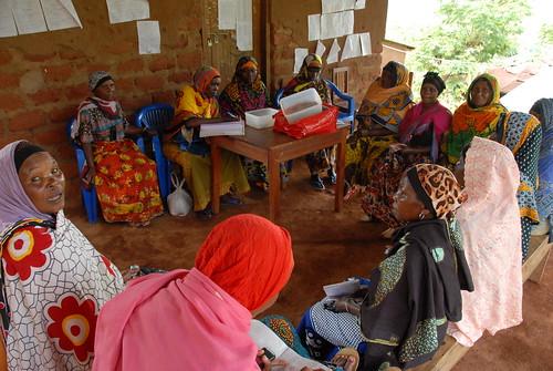 Women members of the Ubiri village dairy innovation platform in Lushoto