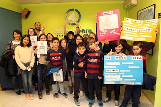 La Tertúlia - 13x11 - 26-02-16 - L'escola i biblioteca de Roquetes fomenten la lectura - Tot el grup