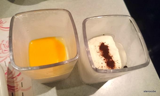 Mango Yogurt & Tiramisu