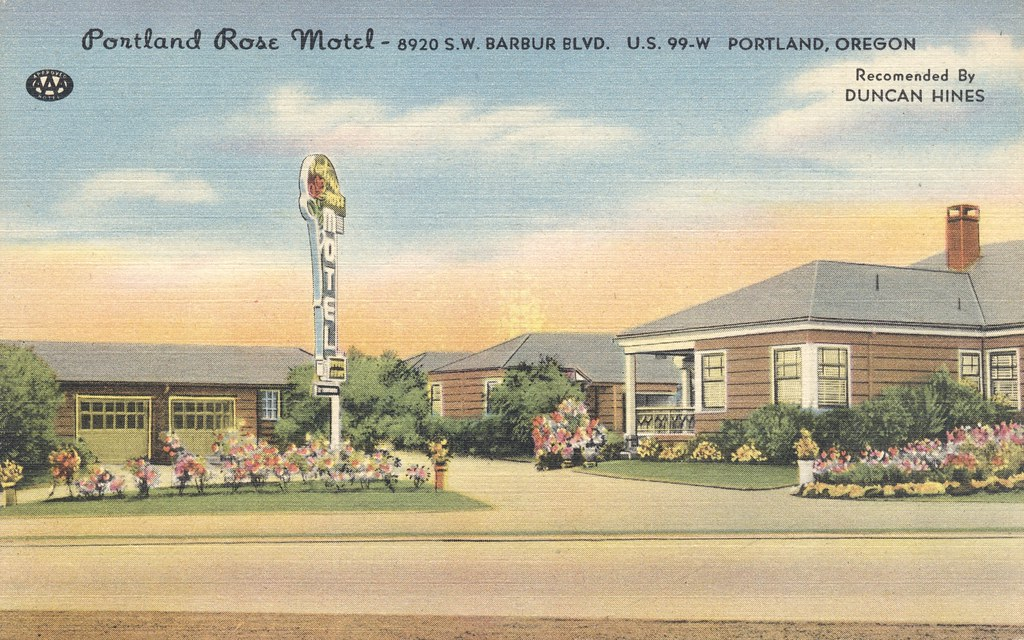 Portland Rose Motel - Portland, Oregon