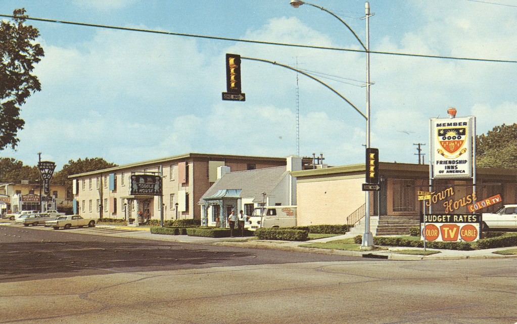 Town House Motel - Waco, Texas