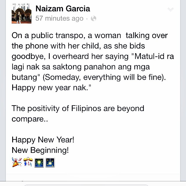 filipino happy new year share new beginning