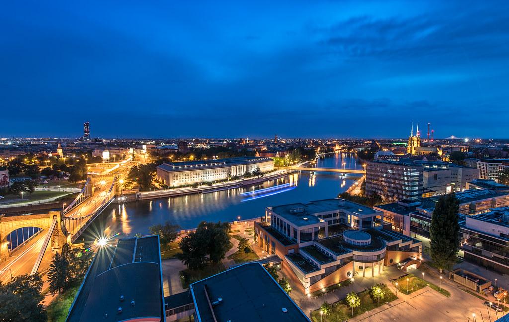 Wrocław cityscape