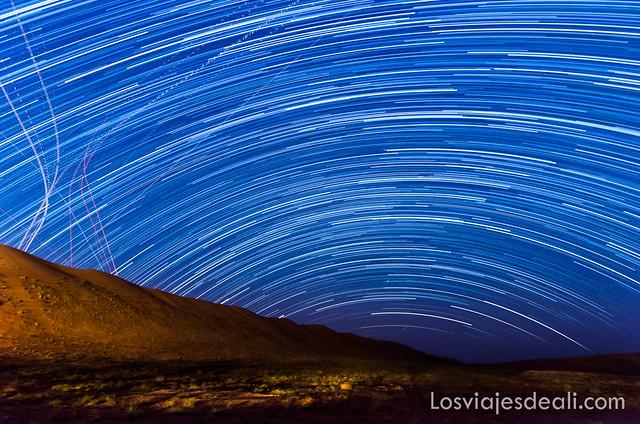 Wahiba Sands cómo fotografiar estrellas