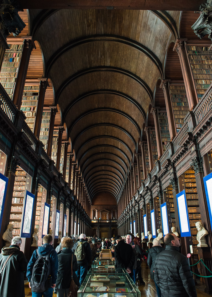 The Old Library Trinity College Library Dublin Clare Havill Flickr