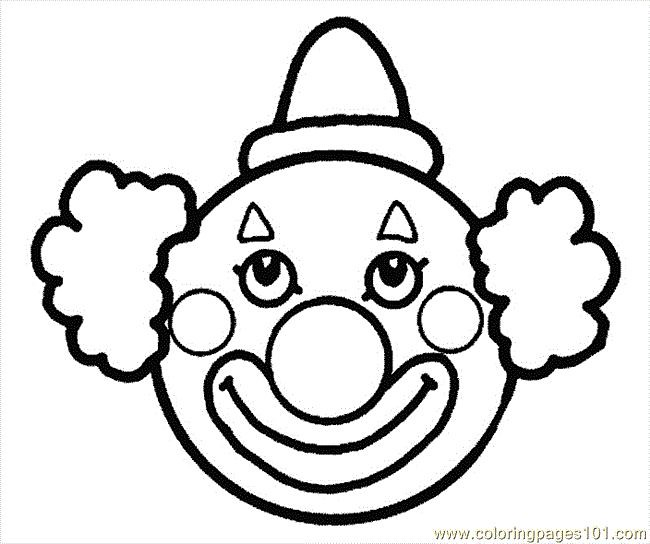 Circus Clown Coloring Pages Free Image E160ea0c8f73e5a1a88 Flickr - Circus-clown-coloring-pages