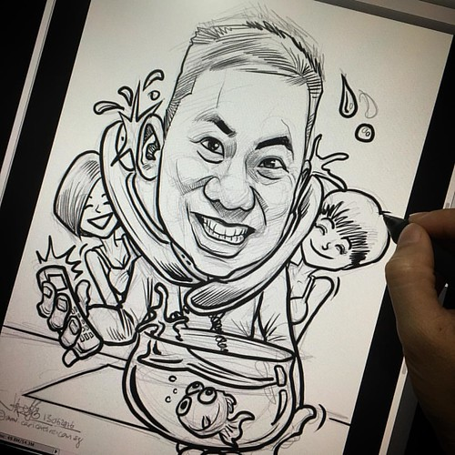 Inking...... | by jit@portraitworkshop.com