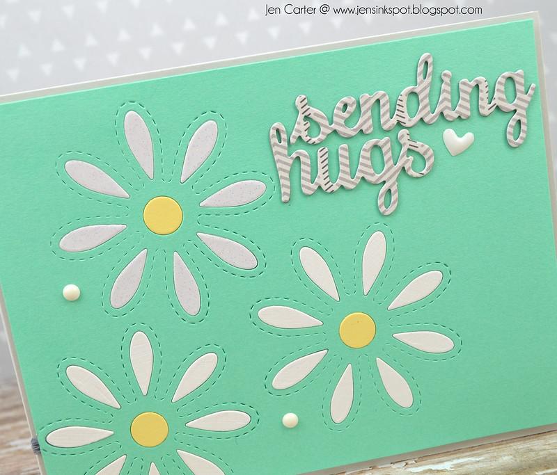 Jen Carter Daisy Hugs Closeup
