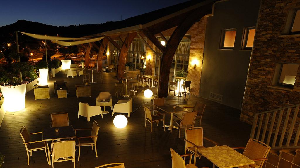 Restaurante Sotoverde Terraza Noche Restaurante