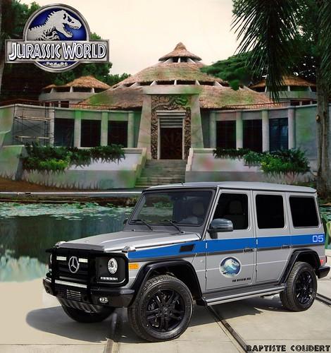 Jurassic World 2015 Jurassic Park 4 Merecedes G G500 V8