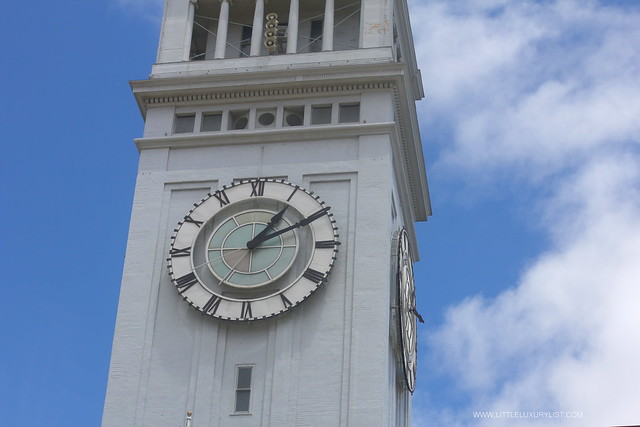 San Francisco Ferry building clock by little luxury list