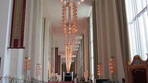 Grand Foyer Kennedy Center : Le grand foyer du kennedy center washington dc les lumi