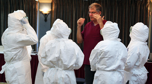 Clinical Management of Ebola Patients Training the Trainers Course | by Pan American Health Organization PAHO