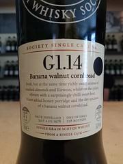 SMWS G1.14 - Banana walnut cornbread