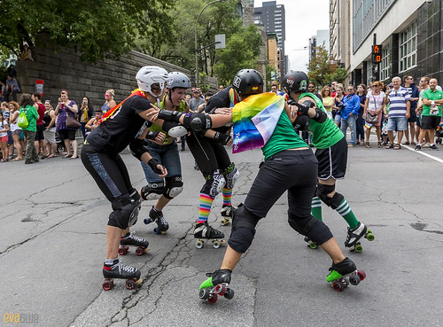 Roller Derby Pride Parade 2016 - 01 | by Eva Blue