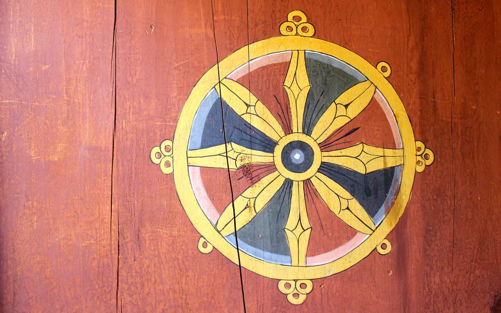 dhamma wheel buddhist art and aesthetics bhutan oct 14