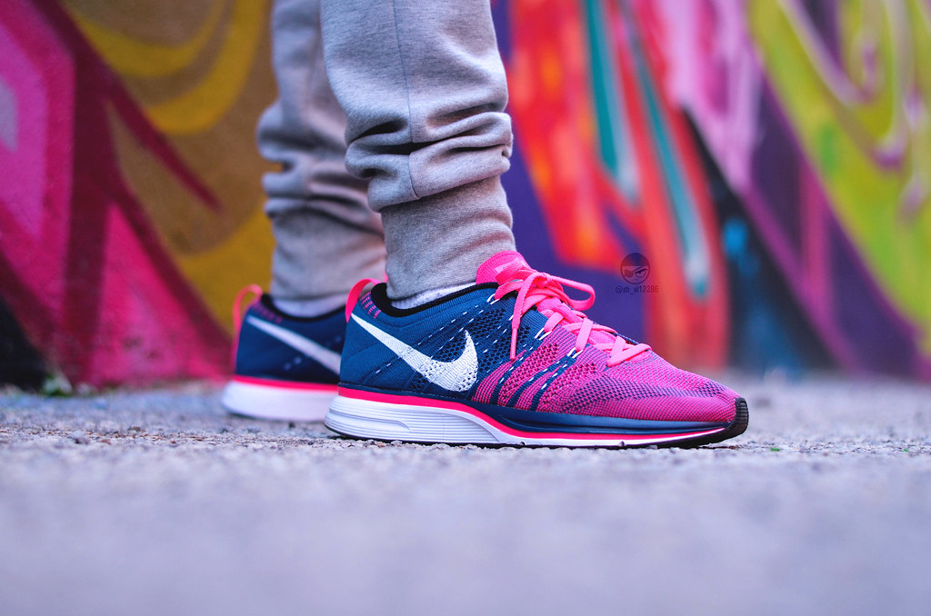 bb2722e8b4bd ... coupon code for nike flyknit trainer squadron blue white pink flash by  abdulkadir a 5acd5 b144c