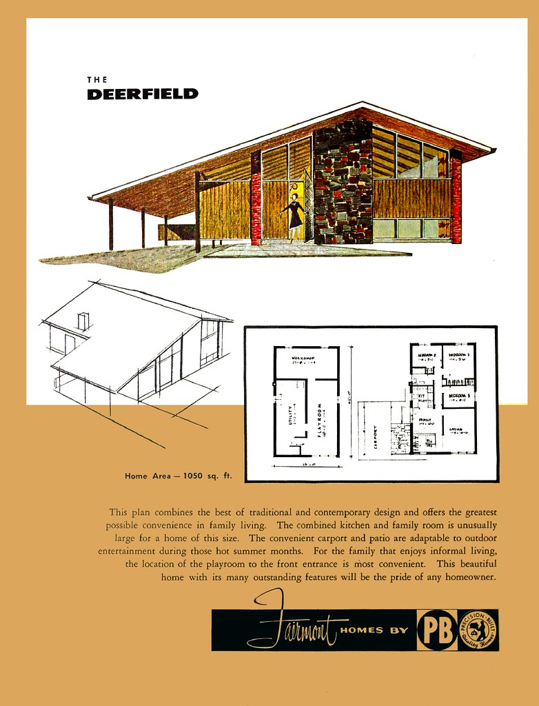 ... The Deerfield   Fairmont Homes By Precision Built   Status Living For  The Sixties | By