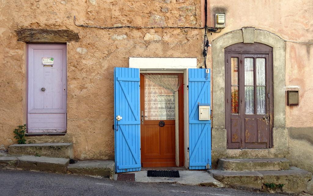 ... Three doors Pontevès Var Provence France | by Spencer Means & Three doors Pontevès Var Provence France | Spencer Means | Flickr